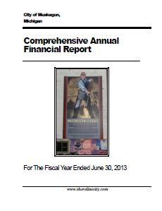 Click image to view the City's FY2013 CAFR