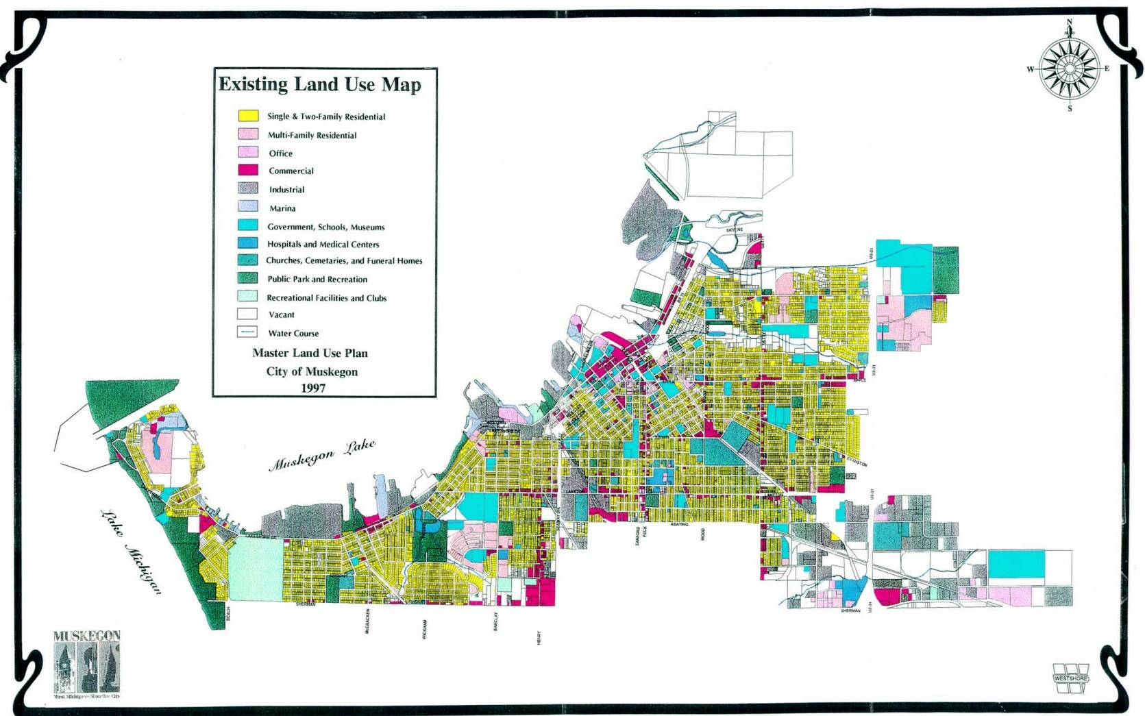 Master Land Use Plan City Of Muskegon