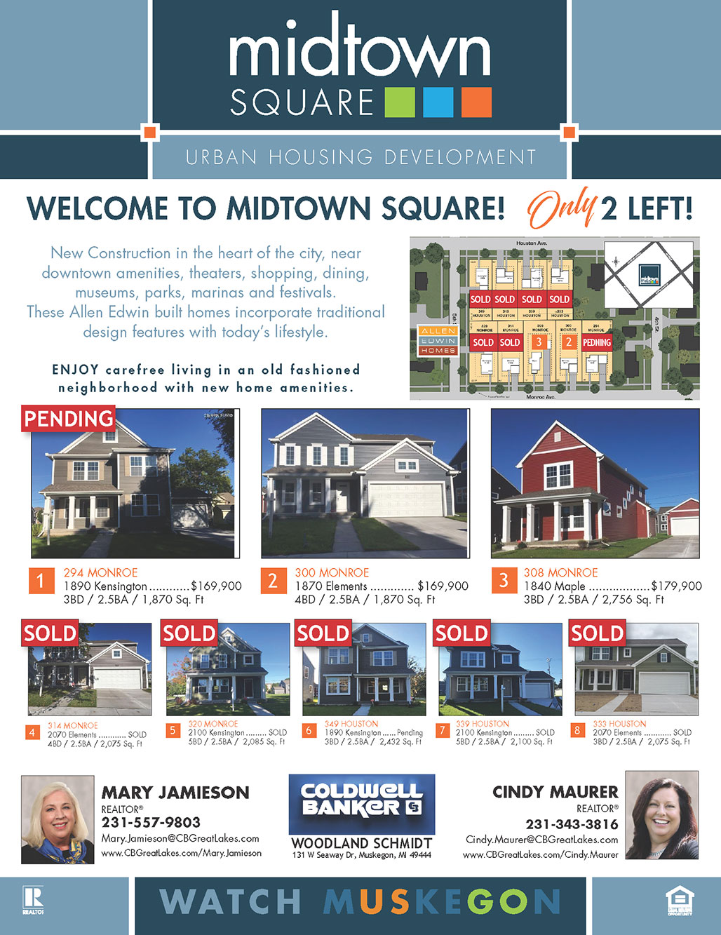 Muskegon Midtown Homes of West Michigan for Sale