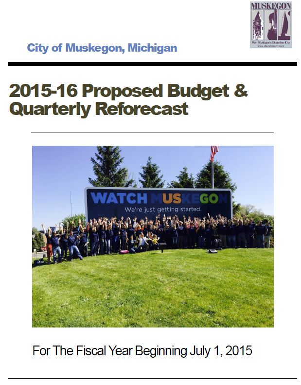 Proposed Budget for Fiscal Year 2015-16