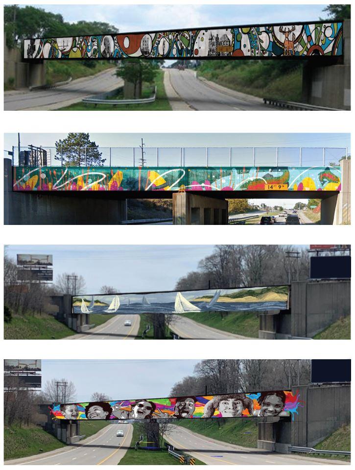 Muskegon Rails Project Murals