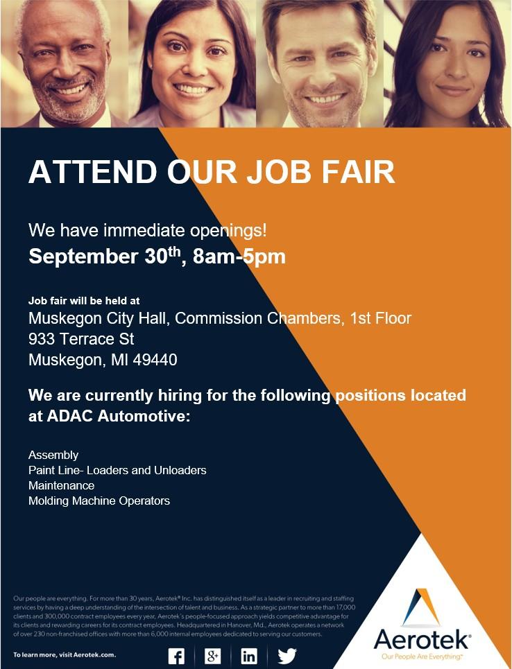 Aerotek/ ADAC Career Fair