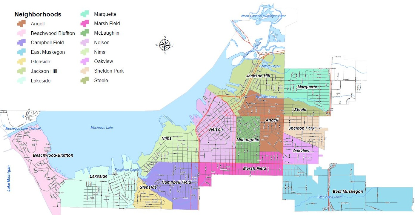 City Of Muskegon Neighborhoods City Of Muskegon