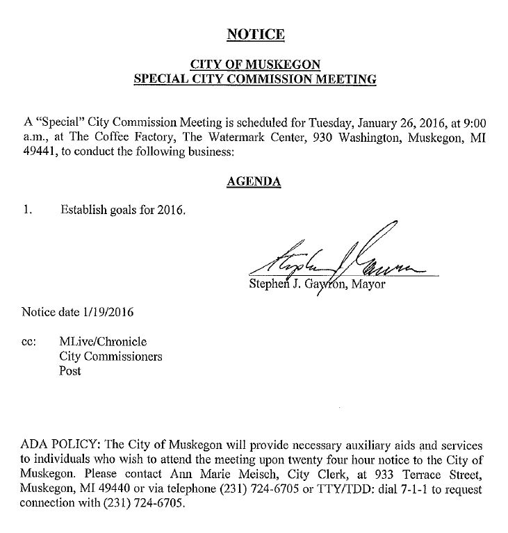 special meeting 1-26-2016