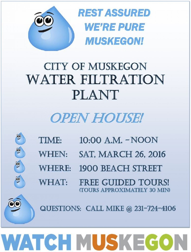 water filtration plant open house